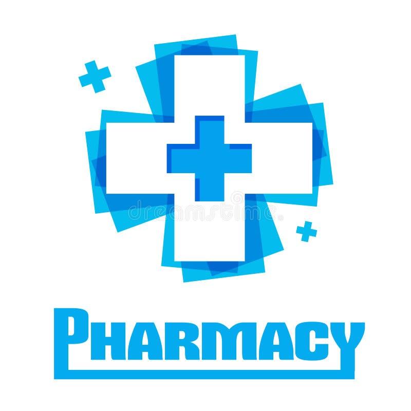 Template design logo Medical royalty free illustration