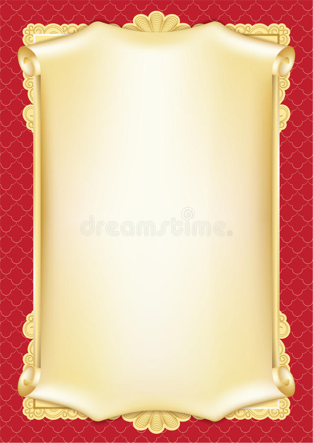 Template For A Scroll Zrom