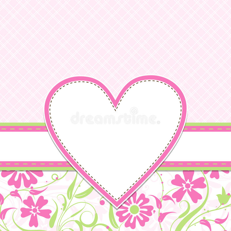 Download Template greeting card stock vector. Image of drawing - 20075644