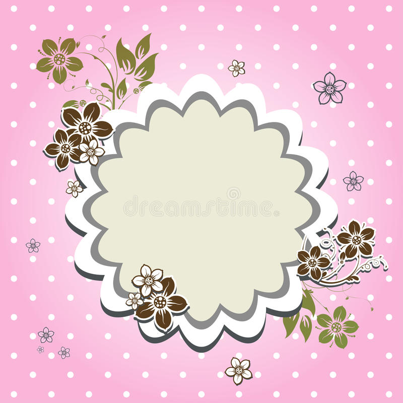 Download Template greeting card stock vector. Image of valentine - 22758572