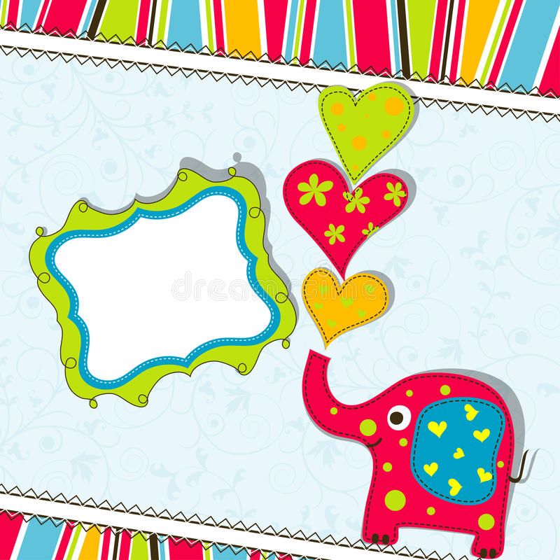 Download Template greeting card stock vector. Image of template - 24778203