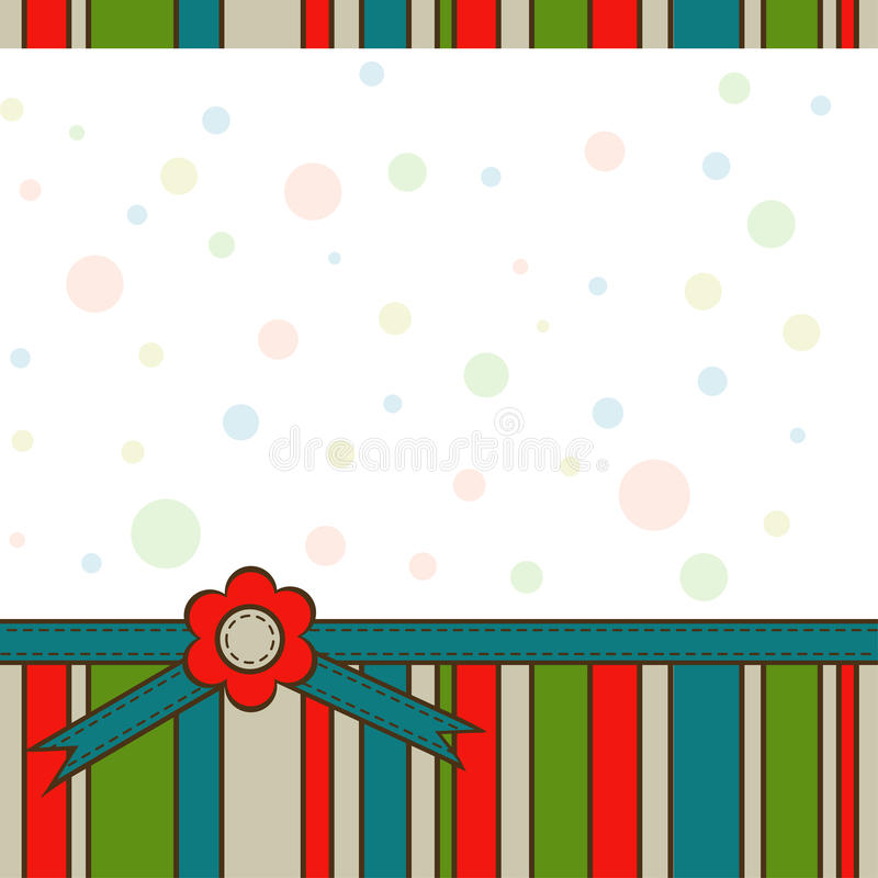 Download Template greeting card stock vector. Image of circle - 25121509