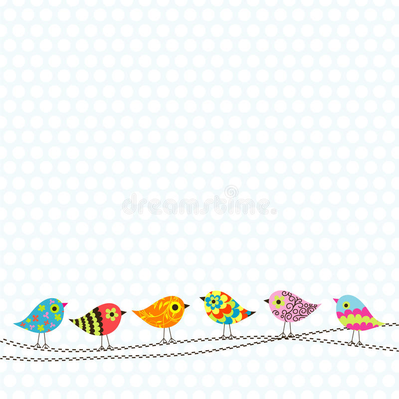 Template greeting card royalty free illustration
