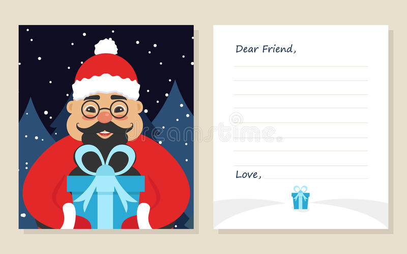 Template greeting card new years or merry christmas letter to dear download template greeting card new years or merry christmas letter to dear friend m4hsunfo
