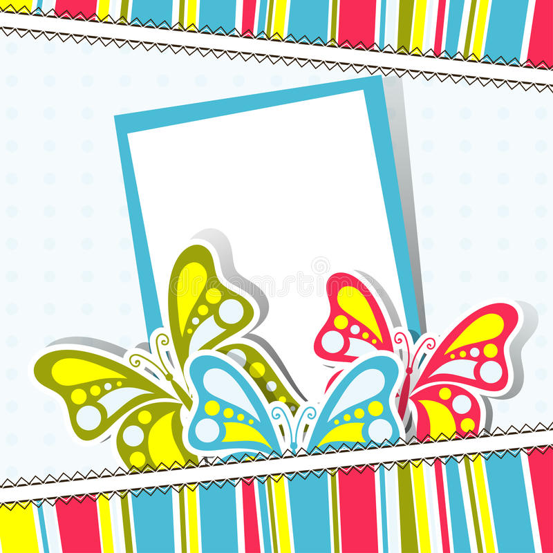 Template Greeting Card Royalty Free Stock Image: Template Greeting Card, Vector Stock Vector