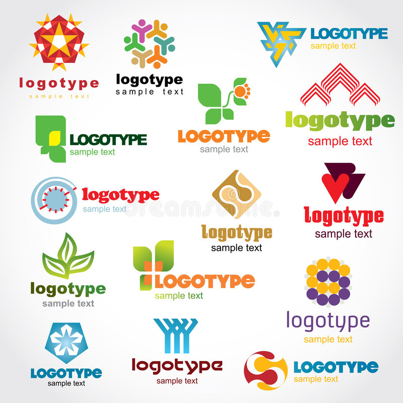 Download Template Logo Royalty Free Stock Image - Image: 6522606