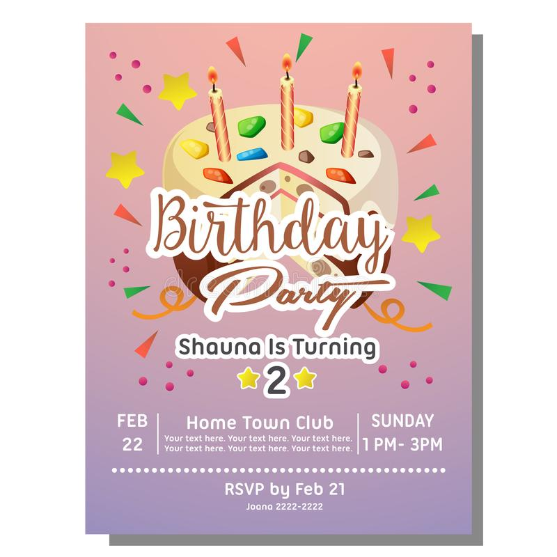 2nd birthday party invites - Acur.lunamedia.co