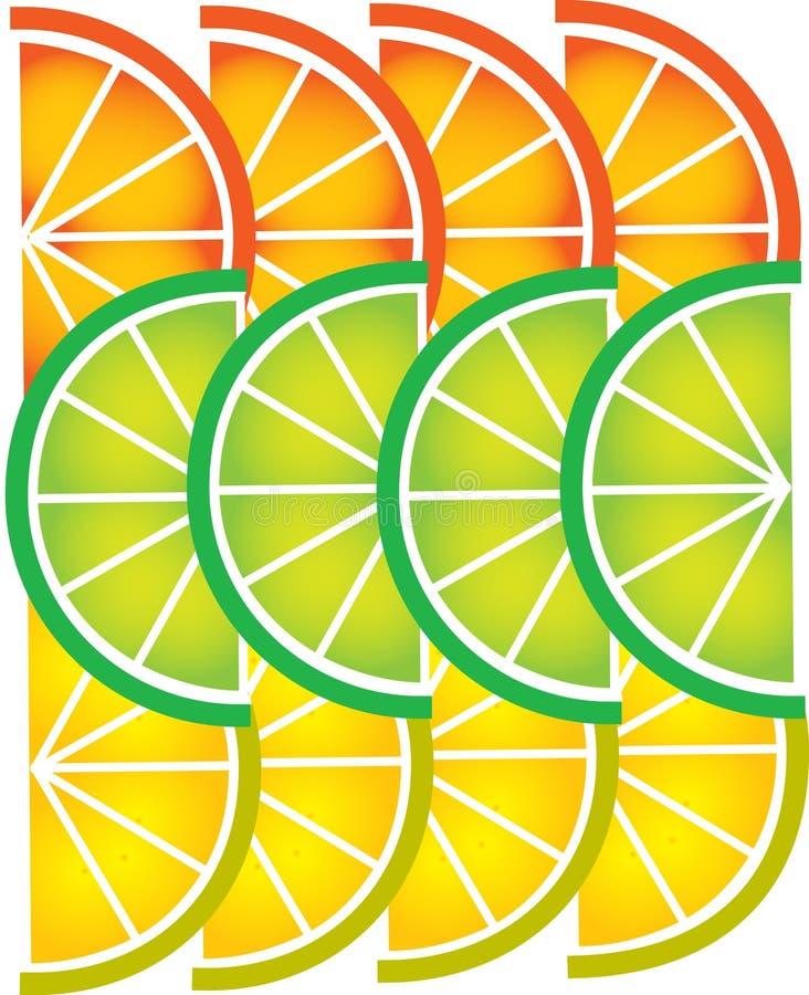 Free Template Of Sliced Lemon And Orange -1 Royalty Free Stock Image - 14980116