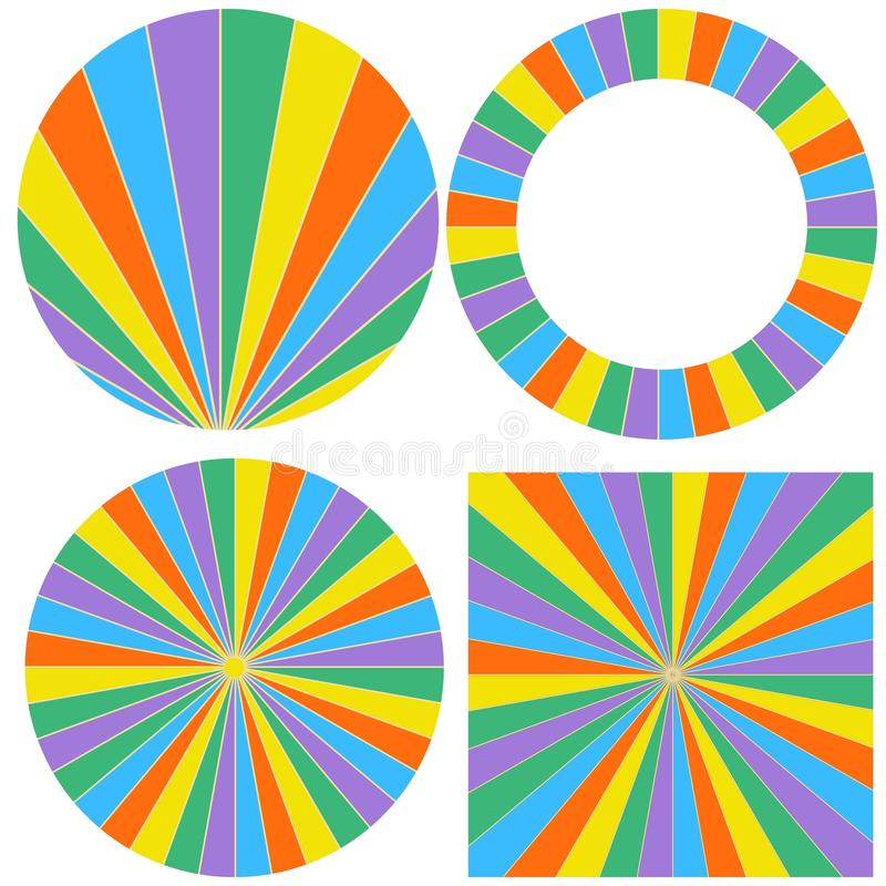 template wheel of fortune stock vector. illustration of gold, Powerpoint templates