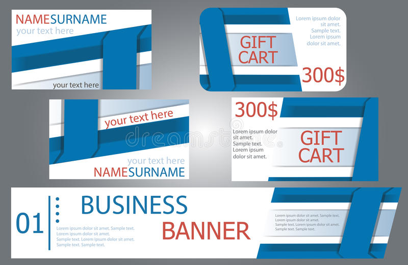Templates banner design gift cards business cards set stock download templates banner design gift cards business cards set stock vector colourmoves