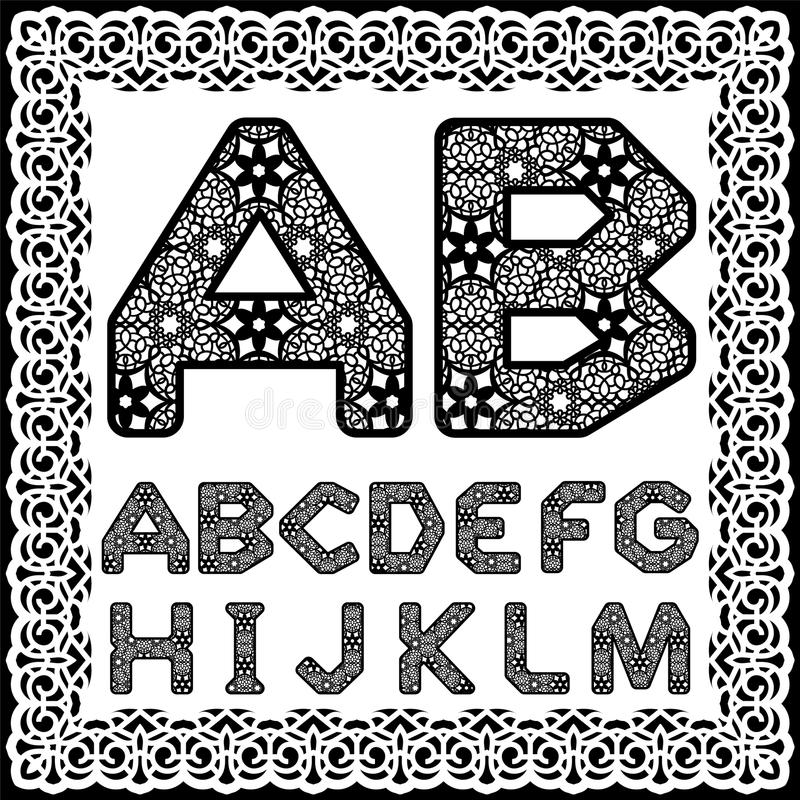 Templates For Cutting Out Letters Full English Alphabet May Be