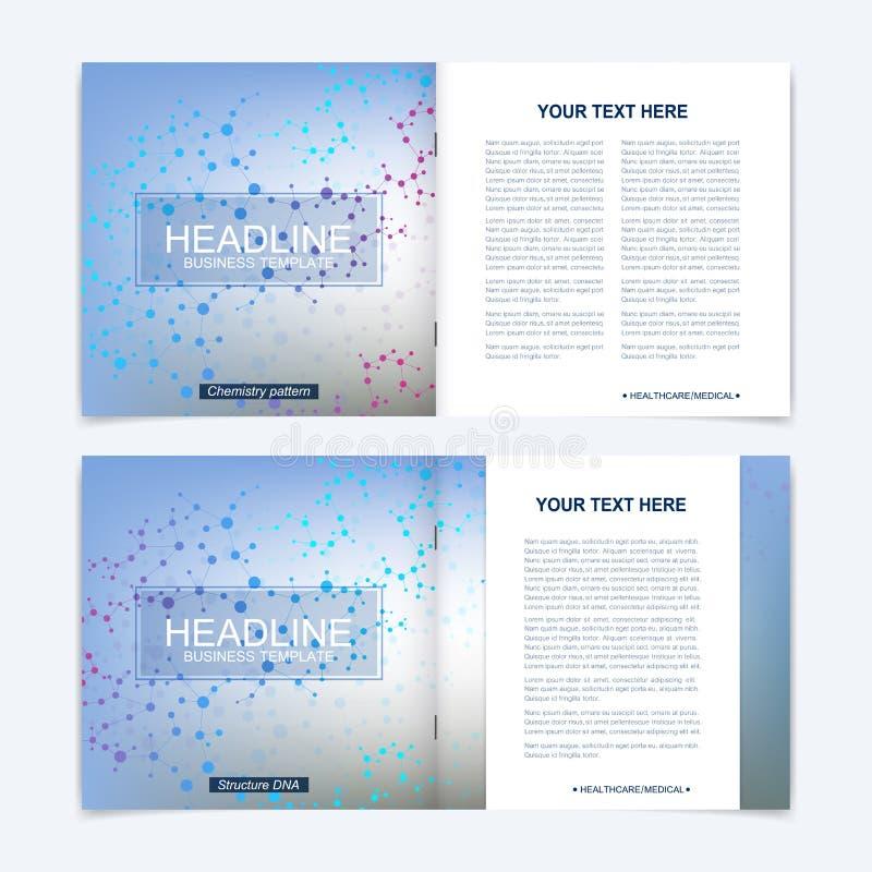 Templates For Square Brochure. Leaflet Cover Presentation. Business ...