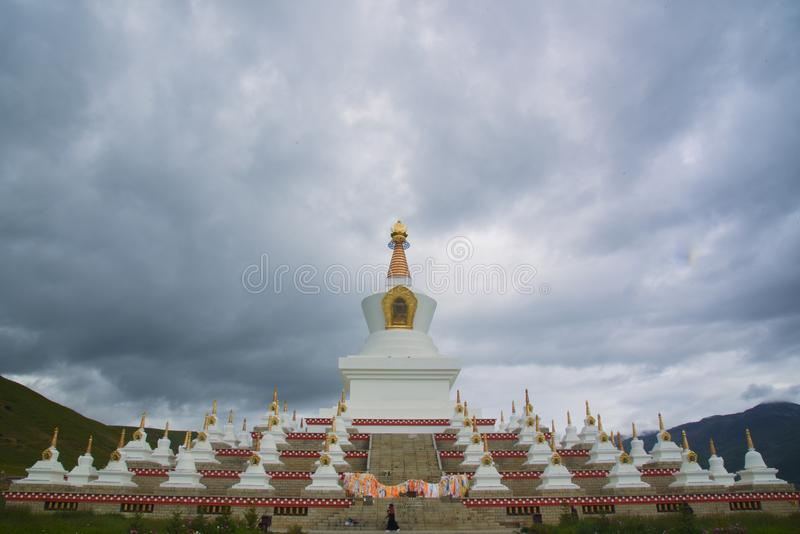 Temple à Dao Cheng photos stock