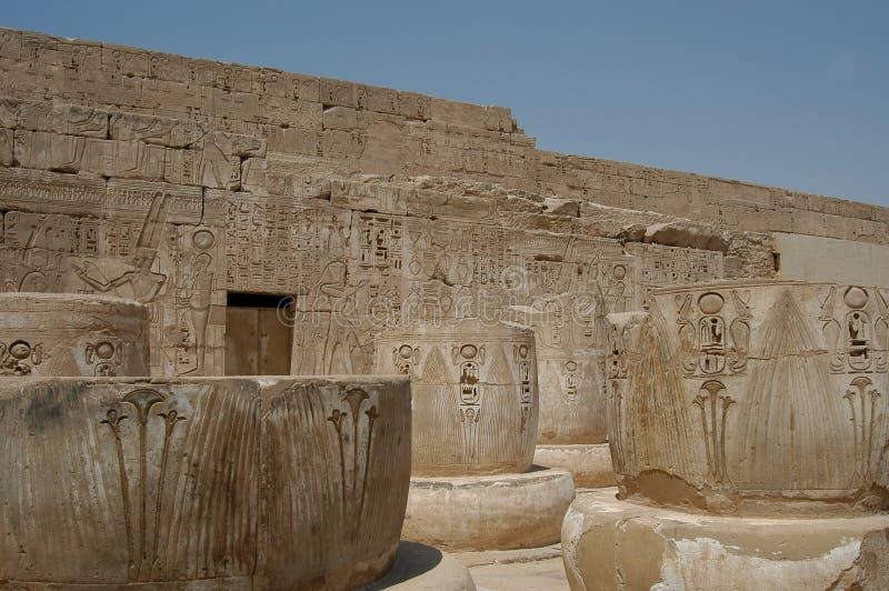 Temple égyptien photos stock