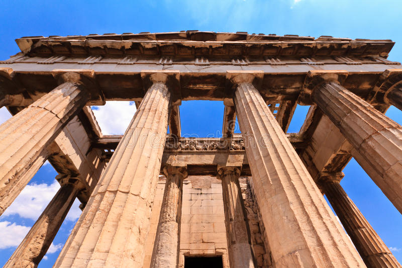 Download Temple In Agora At Athens Royalty Free Stock Photos - Image: 32433938