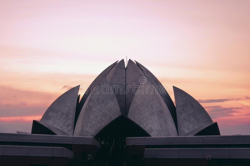 temple of all religions royalty free stock images
