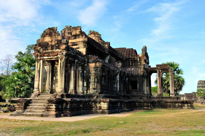 Download Temple in Angkor Wat stock image. Image of historic, beautiful - 24789101