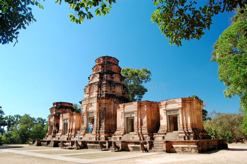 Temple of Angkor Wat. A temple of Angkor Wat, Cambodia royalty free stock images
