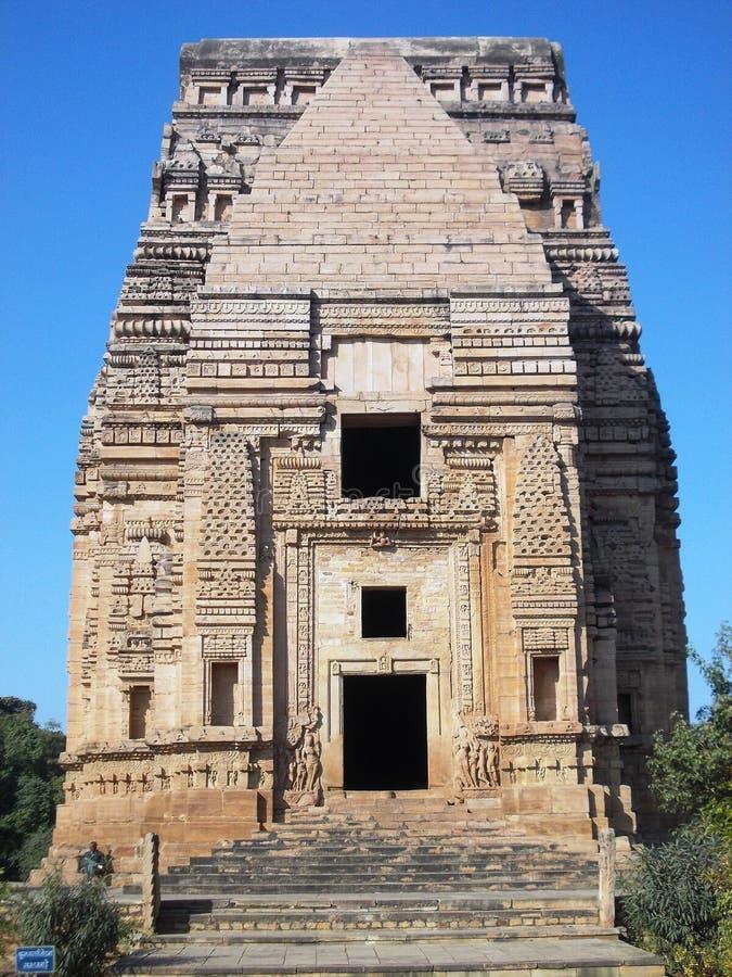 Temple antique à Gwâlior/Inde photos stock