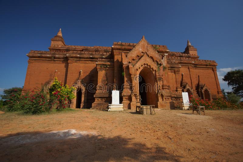 Temple antique de Bagan, Birmanie, Asie photographie stock libre de droits