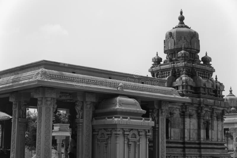 Temple antique de Dravidian d'Inde photos libres de droits
