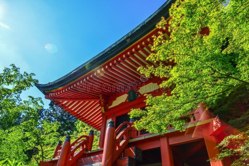 Temple antique ? Kyoto, Japon photos libres de droits