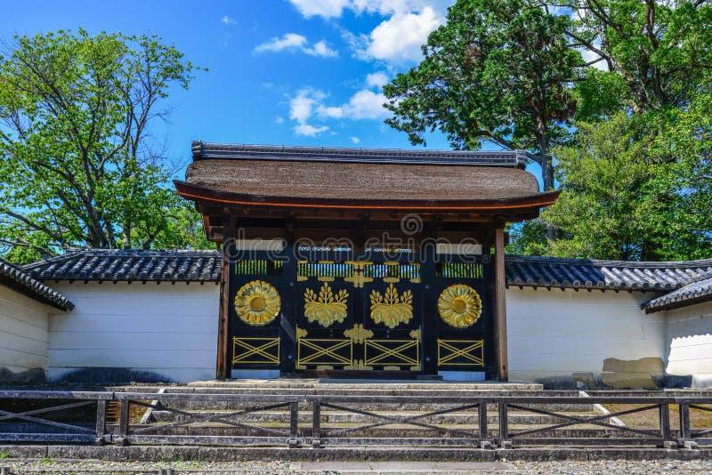 Temple antique ? Kyoto, Japon image libre de droits