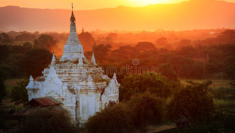 Temple antique, Myanmar images libres de droits