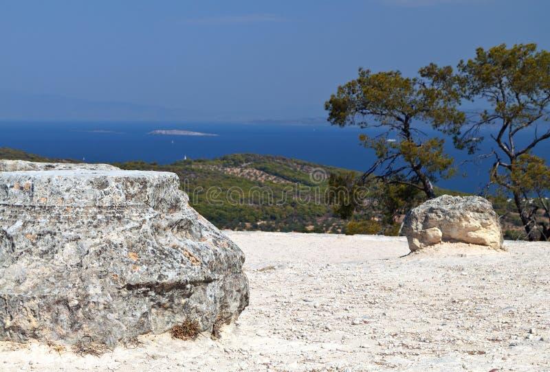 Temple of Aphaea at Aegina, Greece