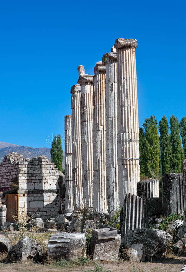 Download Temple of Aphrodite stock photo. Image of history, ancient - 22549442