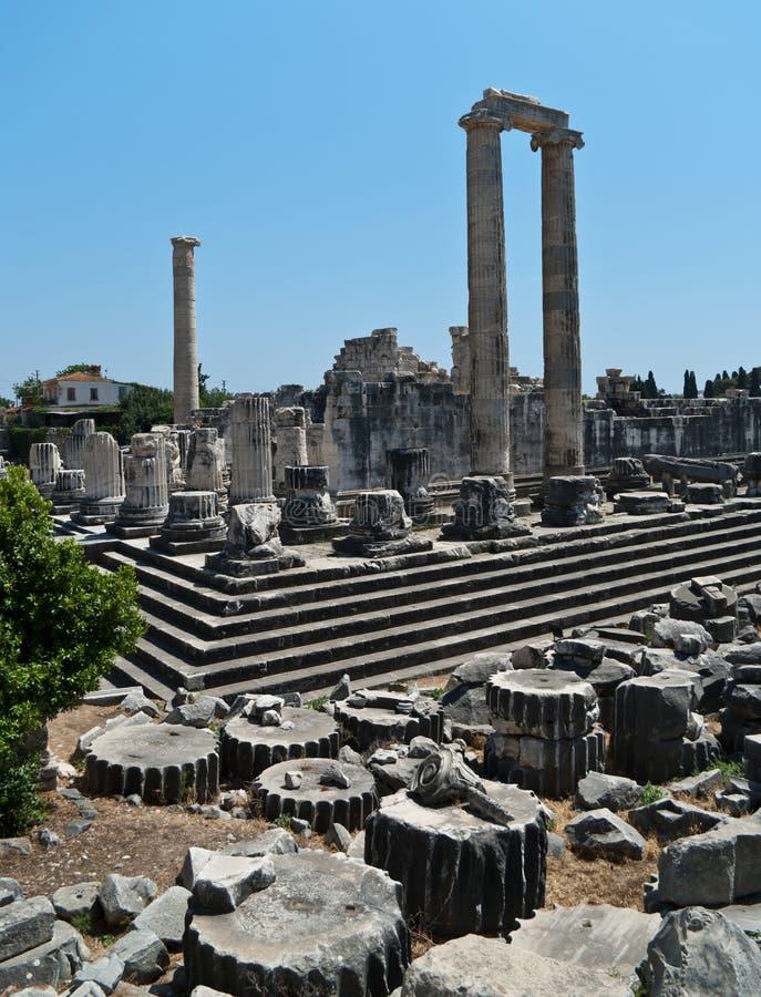 Temple of Apollo stock image