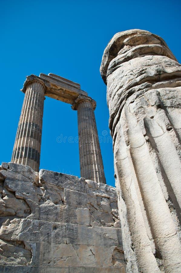 Temple of Apollo detail. Part of the Temple of Apollo (Didymaion) in Didim - Turkey (Anatolia stock photo