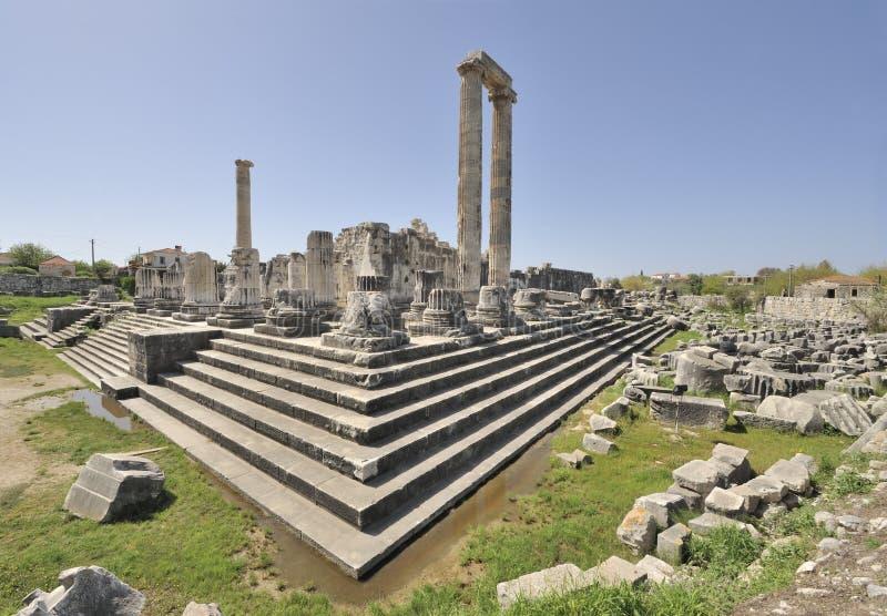 Temple of Apollo at Didyma royalty free stock photos