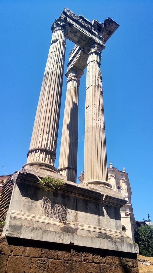 Temple of Appolo Medicus Sosianus stock photo