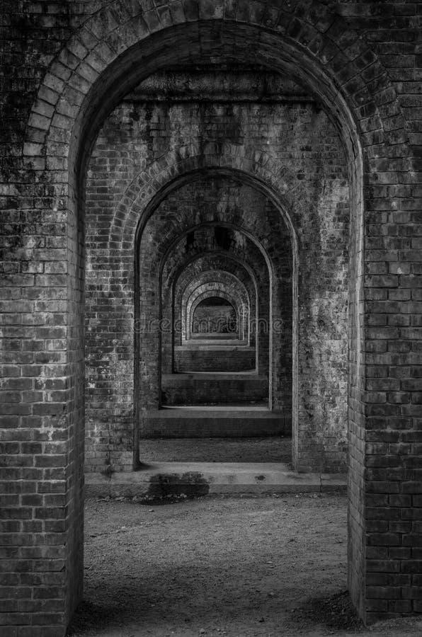 Temple Aquaduct images libres de droits
