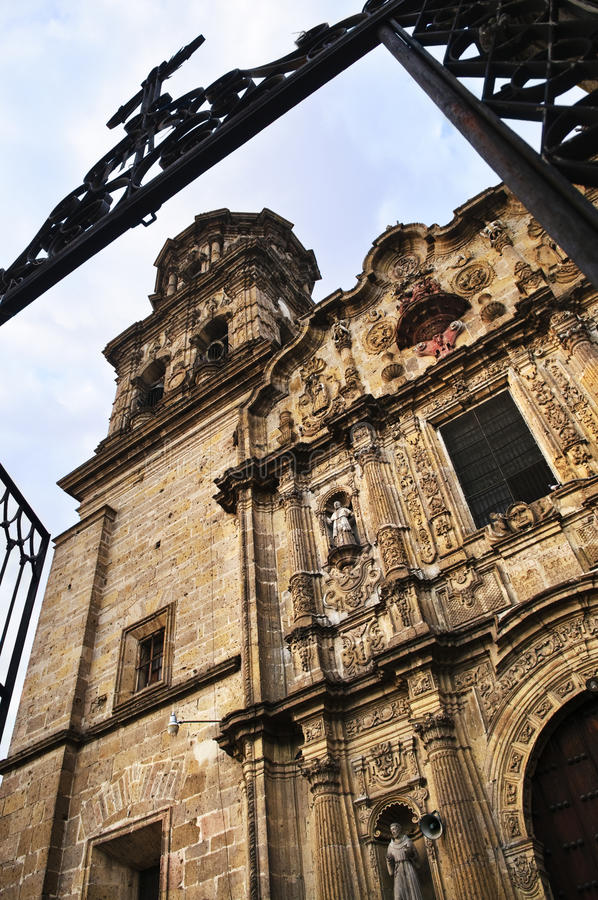 Download Temple Of Ascension In Guadalajara, Mexico Stock Image - Image: 13481343