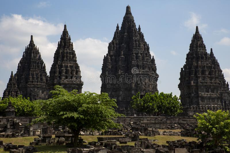 temple Asie image stock