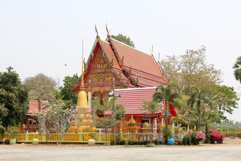 Temple background 335. Temple from chonburi to background royalty free stock image