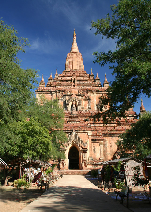 Download Temple in Bagan stock photo. Image of religion, asia, burma - 1412162