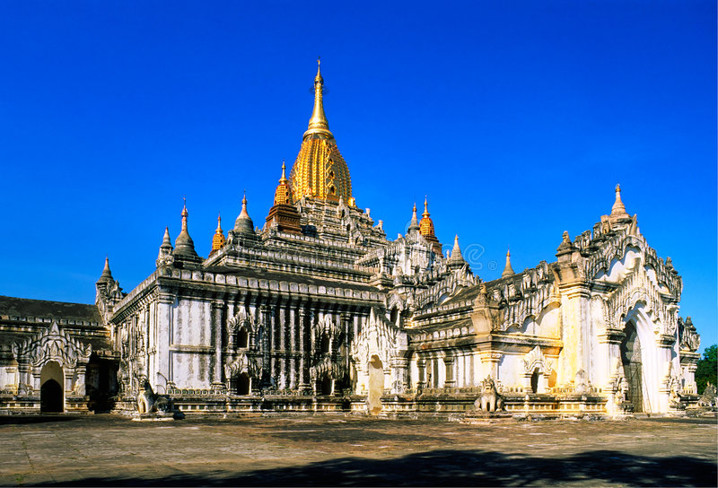 temple bagan de myanmar d'ananda photographie stock