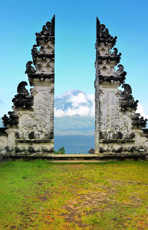 Temple Bali Indonésie de Pura Luhur Lempuyang photo libre de droits