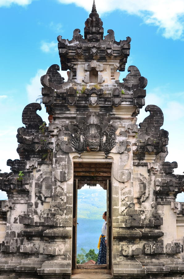 Temple Bali Indonésie de Pura Luhur Lempuyang images stock