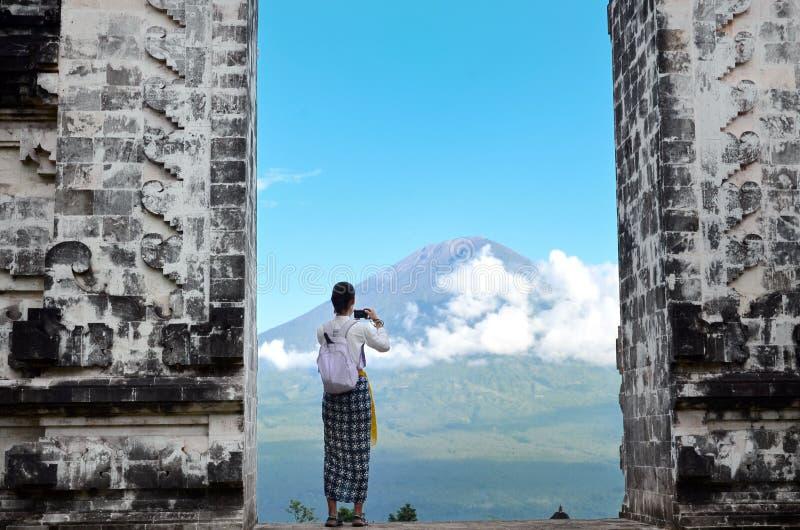 Temple Bali Indonésie de Pura Luhur Lempuyang photos stock