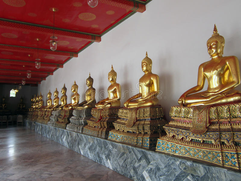 Temple in Bangkok, Thailand royalty free stock images