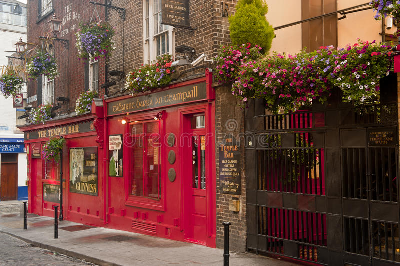 The Temple Bar royalty free stock photo
