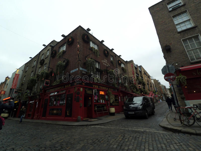 Temple bar Dublin royalty free stock images