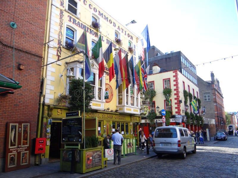 Temple Bar - Dublin stock images