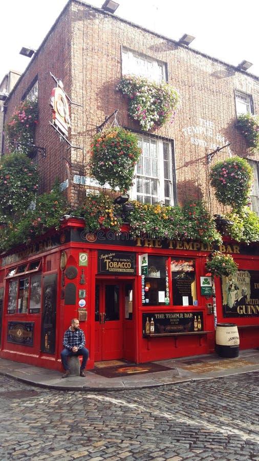 Temple Bar, Dublin Temple Bar Area royalty free stock image