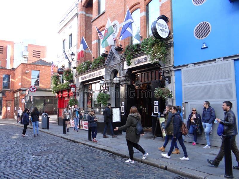 Temple Bar - Dublin stock photo