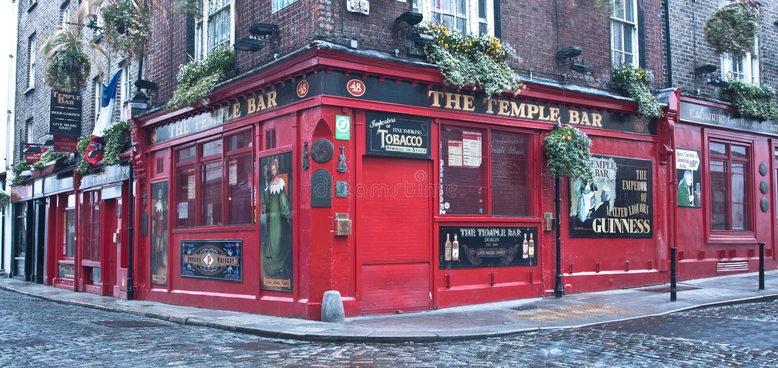 The Temple Bar Pub royalty free stock photography